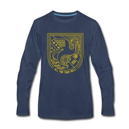 simorgh badge - Men's Premium Long Sleeve T-Shirt