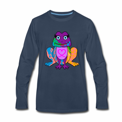 I heart froggy - Men's Premium Long Sleeve T-Shirt