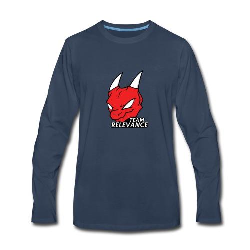 TeamRelevance - Men's Premium Long Sleeve T-Shirt