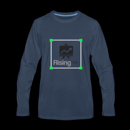 rising now - Men's Premium Long Sleeve T-Shirt