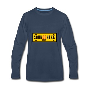 SoundChekk_BandVector - Men's Premium Long Sleeve T-Shirt