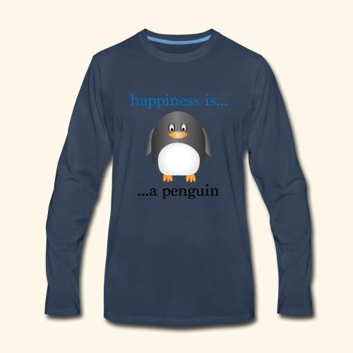 Penguin - Men's Premium Long Sleeve T-Shirt