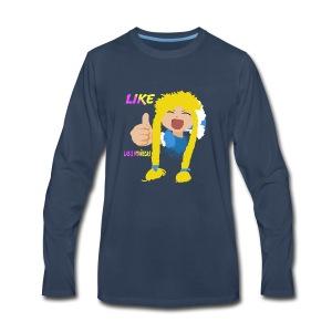 High 5 LIke Nellita - Men's Premium Long Sleeve T-Shirt