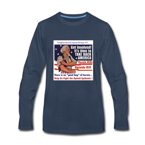 GetInvolved page 001 - Men's Premium Long Sleeve T-Shirt