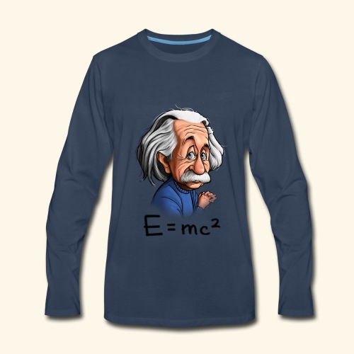 Einstein Tee - Men's Premium Long Sleeve T-Shirt