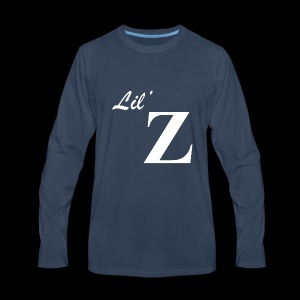 Lil Z Logo - Men's Premium Long Sleeve T-Shirt
