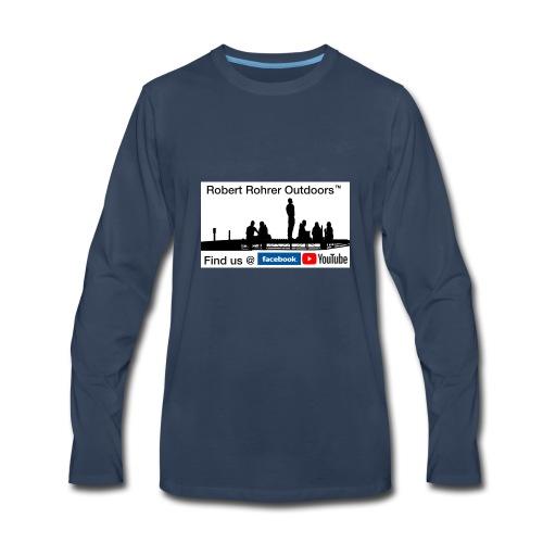 Robert Rohrer Outdoors Fishing - Men's Premium Long Sleeve T-Shirt