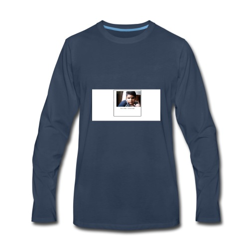 face merch by Arjun Parsad - Men's Premium Long Sleeve T-Shirt