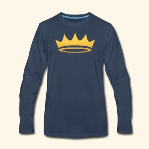 The Famous One - Crown - Men's Premium Long Sleeve T-Shirt
