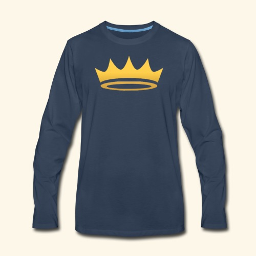 The Famous One - Crown - Men's Premium Long Sleeve T-Shirt