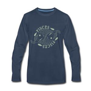 Pisces Shirt - Men's Premium Long Sleeve T-Shirt
