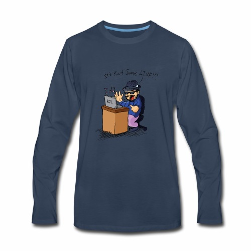 RantJamz Live Cartoon - Men's Premium Long Sleeve T-Shirt