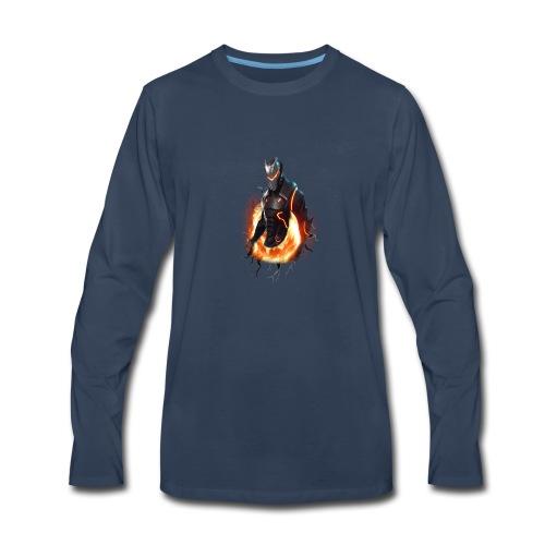 OMEGA_FORTNITE - Men's Premium Long Sleeve T-Shirt