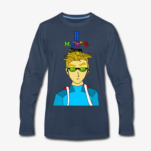Andy For Merch MANS Cinema - Men's Premium Long Sleeve T-Shirt