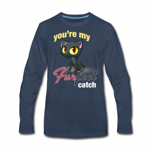 FURFECT CATCH - Men's Premium Long Sleeve T-Shirt