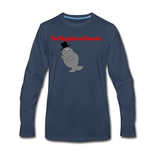TheMagnificentManatee Classic Merchandise - Men's Premium Long Sleeve T-Shirt