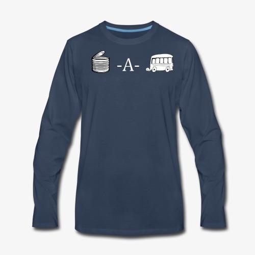 Cannabis Wordplay - Men's Premium Long Sleeve T-Shirt