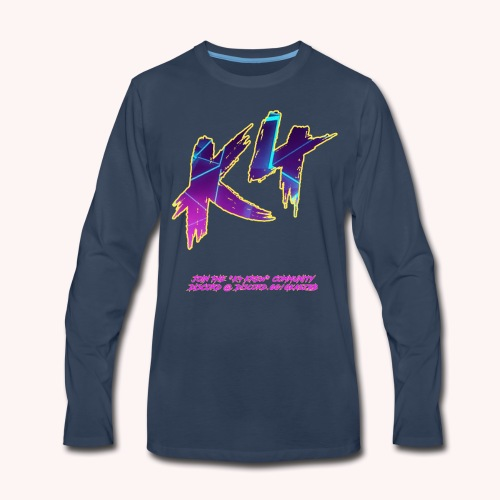K4 GALACTIC - Men's Premium Long Sleeve T-Shirt