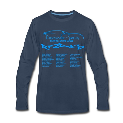 rf2dus with name - Men's Premium Long Sleeve T-Shirt