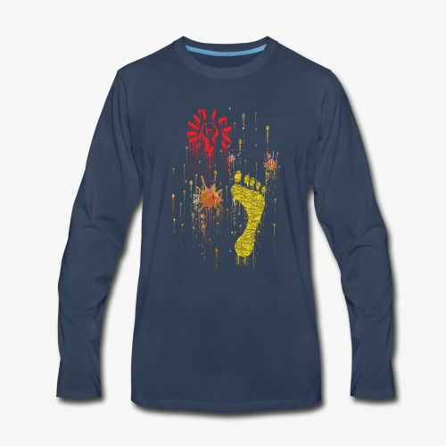 Abstract, Gift For Her And Him - Men's Premium Long Sleeve T-Shirt