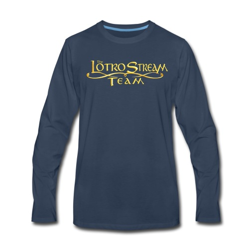 The LOTRO Stream Team Logo - Men's Premium Long Sleeve T-Shirt