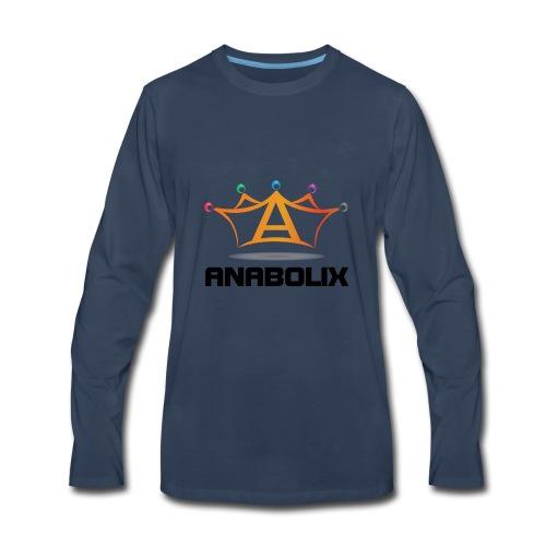 anabolix logo color - Men's Premium Long Sleeve T-Shirt