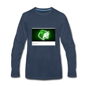 Wolf gamer - Men's Premium Long Sleeve T-Shirt