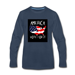 AMERICA VOTE IT - Men's Premium Long Sleeve T-Shirt