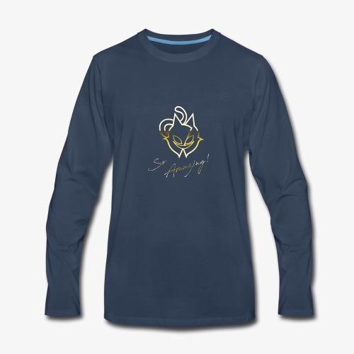 So Amazing! Gold - Men's Premium Long Sleeve T-Shirt