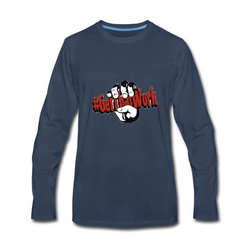 #GetThatWork Red - Men's Premium Long Sleeve T-Shirt