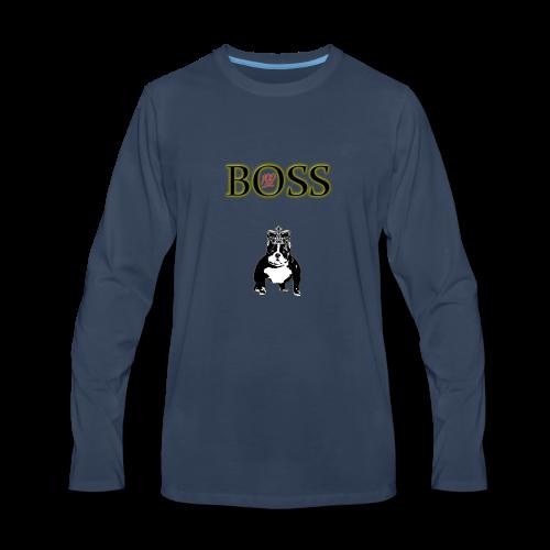 Boss Dog - Men's Premium Long Sleeve T-Shirt