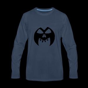 Black Transparent Logo - Men's Premium Long Sleeve T-Shirt