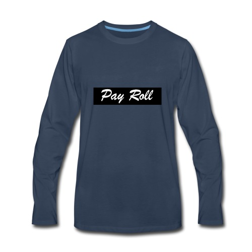 PayRoll Stripe - Men's Premium Long Sleeve T-Shirt