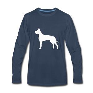 Great Dane - Men's Premium Long Sleeve T-Shirt