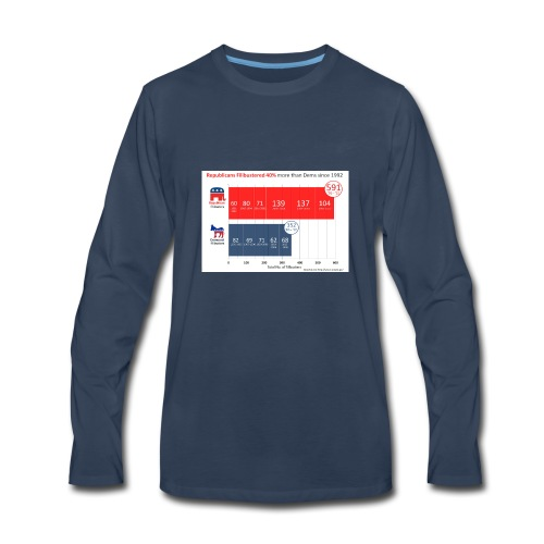Republican Democret - Men's Premium Long Sleeve T-Shirt
