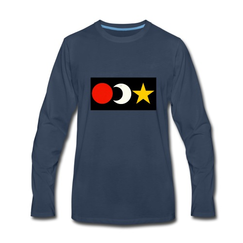 The Sun, Moon And Star. - Men's Premium Long Sleeve T-Shirt