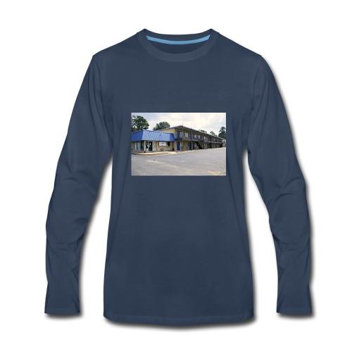 The Blue Door Motel - Men's Premium Long Sleeve T-Shirt