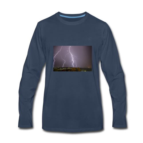 Thunder Thoughts - Men's Premium Long Sleeve T-Shirt