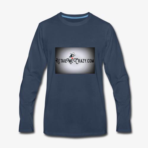 RetailMeCrazy.com - Men's Premium Long Sleeve T-Shirt