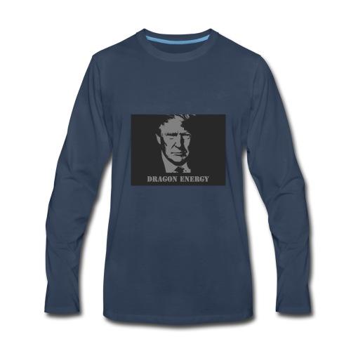 Trump Dragon Energy Dark - Men's Premium Long Sleeve T-Shirt
