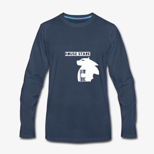 The House of the Winter - Men's Premium Long Sleeve T-Shirt