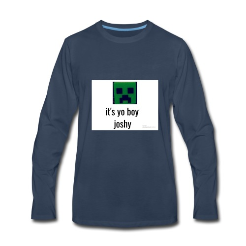 it's yo boy joshy - Men's Premium Long Sleeve T-Shirt