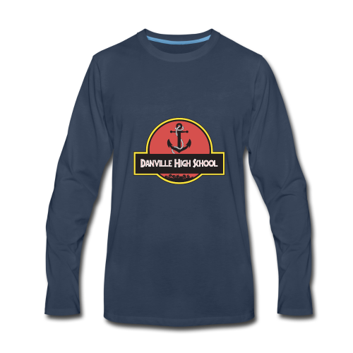 Danville High - JP Edition - Men's Premium Long Sleeve T-Shirt