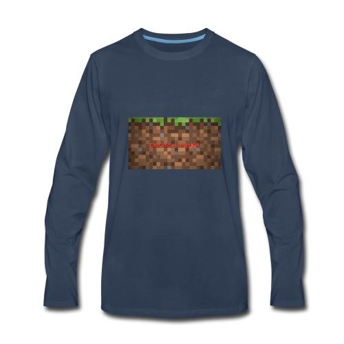 Golden Logo - Men's Premium Long Sleeve T-Shirt
