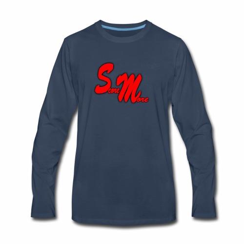 AUTOGRAPH LOGO! - Men's Premium Long Sleeve T-Shirt