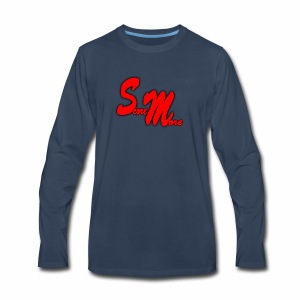 AUTOGRAPH LOGO! - Men's Premium Long Sleeve T-Shirt