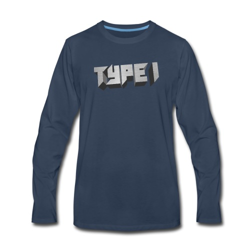 TYPE 1 - Men's Premium Long Sleeve T-Shirt