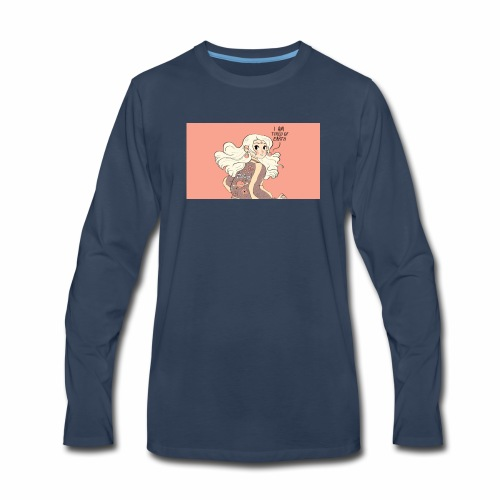 Space girl - Men's Premium Long Sleeve T-Shirt