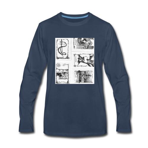 Fate tarot - Men's Premium Long Sleeve T-Shirt