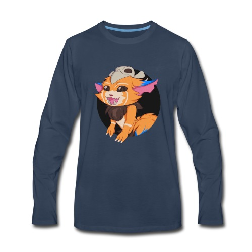 League of Legends - Gnar Cup - Men's Premium Long Sleeve T-Shirt